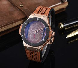 Wholesale watch stop Watch Men S WATCH lStainless Steel Calibre Watch Analog Glass Back Watch Montre