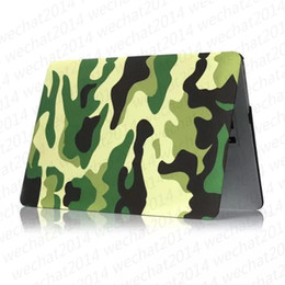 macbook pro 13 matte case 2019 - Camouflage Rubberized Frosted Matte Hard Shell Laptop Cases Full Body Protector Case Cover for Apple Macbook Air Pro 11&