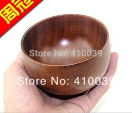 Free Wood Canada - New High Quality Free Shipping 6 pcs lot Shave Shaving wood bowl soap bowl mug cup for manual shaving brush