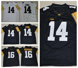 ae9157694 Newest 14 Desmond King Football Jerseys Iowa Hawkeyes College Throwback 16  C.J Beathard .
