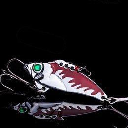Fishing Lures Metal Spoons NZ - Full Swimming Depth Metal Fishing Lures 5PCS Box-packed Spoons Fishing Baits 10g 4.5cm Lifelike Fake Baits with 8# Fishing Hook