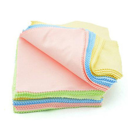 $enCountryForm.capitalKeyWord NZ - 2016 Real Wholesale 50pcs lot of Square Glasses Camera Lens Screen Cellphone Cleaner Cleaning Cloth Microfibre Jewelry Polishing Clothes