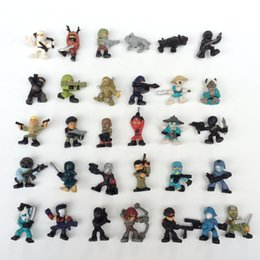 japanese mini figures Canada - Soldier Japanese ninja 2017 Mini Action Figures Gashapon Gachapon Capsule Toys Cute for children Christmas Gifts
