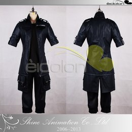 fantasy male costumes Canada - FINAL FANTASY XV Noctis Lucis Cosplay Costume