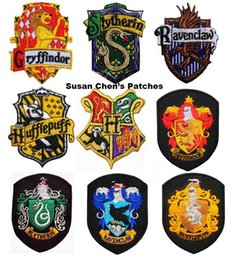 Barato Remendos De Ferro Harry Potter-Harry Potter Iron on Patches Embroidery Patches Mixed 9 estilos