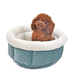 957f842ec4df Soft Cat Bed Kitten Nest Luxury Dog Kennel Puppy House Cama de alta calidad para  perro acogedor Kitten Cage Pet Supplies Warm Pet Mats