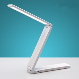 China Folding table lamp led Rechargeable table lamp USB Portable children college students dormitory bedroom led small desk lamp suppliers