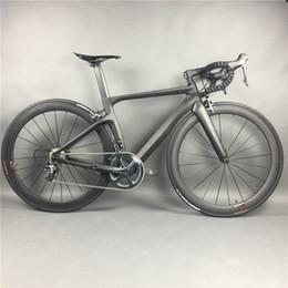 Vélo de route complet en fibre de carbone pour cyclisme, cadre en fibre de carbone T800, roues en carbone R36, SHiMANO 3500/4700/5800 / R8000 / 9100