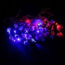 $enCountryForm.capitalKeyWord NZ - Light wreath headdress veil flash wreath led Hawaii tourism hot manufacturers wreath