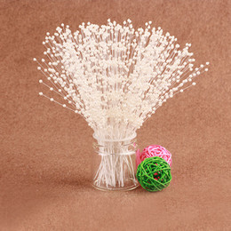 $enCountryForm.capitalKeyWord Canada - valentine's day 100PSC pack wedding cake topper decorative centerpieces artificial flowers Bead chain wedding decoration crafts