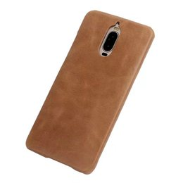 Ascend Mate Cases UK - Portable For Huawei Mate 9 Pro Case Back Cover Luxury Colorful Ultra-Thin Original Genuine Leather Case For Huawei Ascend Mate 9 Pro
