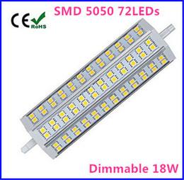 R7s eneRgy saving bulb online shopping - Dimmable R7S LED Bulb W SMD5050 V mm LED Lamp Bulb R7S Light Degree Energy Saving Perfect Halogen Lamp Floodlight