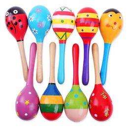 $enCountryForm.capitalKeyWord Canada - Child Toys Wood Rattles Wooden Maraca Baby Shaker Educational Kids Party Musical Tools Rattle Ball Multicolor Cartoon Hammer best gift