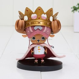 $enCountryForm.capitalKeyWord NZ - Japan anime One Piece figure 15th Edition Chopper With Crown PVC Action Figure Model Toy approx 11cm good gift for child Free Shipping