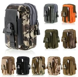 TacTical waisT pack pouch online shopping - Military Molle Tactical Waist Bag Wallet Pouch Phone Case Outdoor Camping Hiking Outdoor Tactical Bag Waist Fanny Pack KKA2875