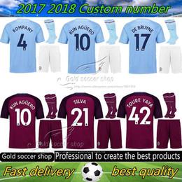 44f08c36d ... czech 17 18 man city soccer jersey adult kit have socks 2017 2018 dzeko  kun b1b57