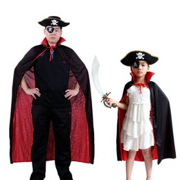 Accessoires De Costumes De Pirate Pas Cher-Déguisé blinder + Pirate Costume Adulte + Eye chapeaux Costume Cosplay Pour Caps And Cloaks 96-1048 Halloween Party Vêtements Props Cosplay