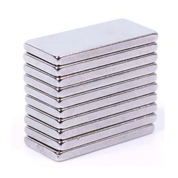 20 шт. / лот новый стабильный сильный блок кубовидной магниты на холодильник редкоземельные неодимовые 20x10x2mm #64072
