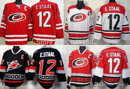 06f656632 ... 2016 Wholesale Carolina Hurricanes Hockey Jerseys 12 Eric Staal Jersey  Red Black White Cheap Stitched E ...