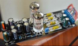 Assembled Amplifier Boards Canada - 6N3*2 (5670 6H3) tube preamplifier assembled board buffer buffer database board office board office