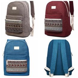 Floral Laptop Backpack Online | Floral Canvas Laptop Backpack for Sale