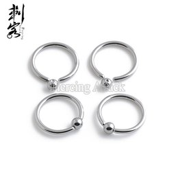 $enCountryForm.capitalKeyWord Canada - 316L Surgical Steel Captive Rings 16 Gauge Mixed Sizes Basic Body Jewelry