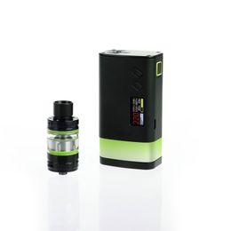 sigelei box mod kit 2019 - Genuine Sigelei Fuchai GLO Kit 230W TC Box Mod With SLYDR M Atomizer TFT color screen LED strip Glo Vapor Mod Ecigarette