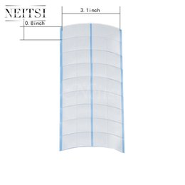 Wholesale New Arrival Neitsi Mini Strips Ultra Hold Tape Super Stick Adhesive Double Sided Tape Tabs for Toupee and Lace Wigs bag