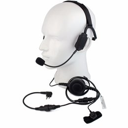 TacTical headseTs pTT online shopping - 1pc Finger PTT MIC Military Bone Conduction Tactical Headset for Motorola GP88 PRO5150 CLS1110 Walkie Talkie C2225