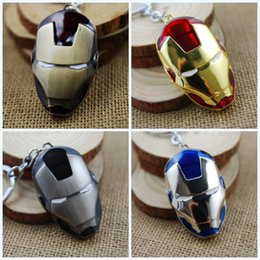 $enCountryForm.capitalKeyWord Canada - Free DHL Movies Accessories 4 Color Iron Man Mask Zinc Alloy Keychains Key Ring Action Figure Toys Children Gifts K19E