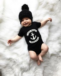 kids stylish clothing 2018 - Mikrdoo Fashion Baby Boys Clothes Kids Short Sleeve Romper The Mad Hueys Infant Jumpsuit Stylish Casual Cotton Newborn T