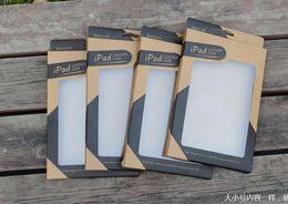 Ipad Mini Box NZ - Kraft Brown Paper Retail Box Packaging boxes for 9.7 iPad 6 air2 5 air 3 4 7.9 mini 2 PU Leather Case