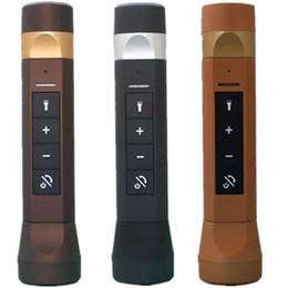 $enCountryForm.capitalKeyWord Canada - Multifunctional portable rechargeable mini flashlight outdoor sport bicycle wireless Bluetooth speaker LED Bike Light Lamp Flashlight 65-YX