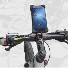 Venta caliente de Accesorios de Bicicleta Soporte de Clip de Manillar Soporte para Teléfono Móvil Soporte de Bicicleta Soporte Para iPhone 4 4S 5 5s 6 6 s más Samsung Case en venta