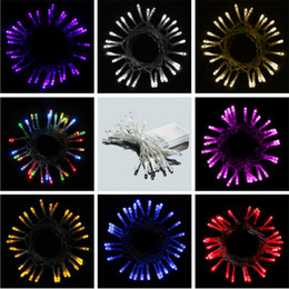 model windows Canada - LED Battery Light String 4 Meters 40 Beads Shop Windows Festive Lights Wedding Explosion Models of Foreign Trade