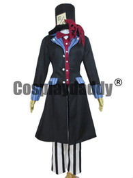 Black Butler Kuroshitsuji Undertaker Cosplay Costume Hat Deluxe Version