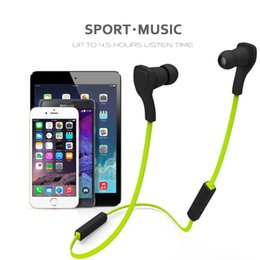 Discount wireless headphones mic for phone BT-H06 Wireless Sport Bluetooth V3.0+EDR Stereo Sport Headphone Leisure Sports Headsets with Mic for Iphone Samsung Xiao