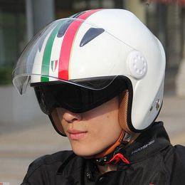 $enCountryForm.capitalKeyWord Canada - 2016 New Germany NERVE FLASH double lens half Face motorcycle helmet safety motorbike helmets for men and women Four Seasons General