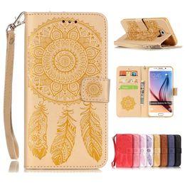 samsung galaxy s6 edge case gel 2019 - For iphone 7 Beautiful Wallet Leather Case For Samsung Galaxy S7 edge S6 Plus S5 PU Flip Soft Gel Cover Embossed Campanu