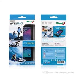 SamSung S6 waterproof online shopping - Redpepper Waterproof Shockproof Dirt resistant Case Swimming Surfing Cases For iPhone C S S Plus Samsung S6 S7 edge Note