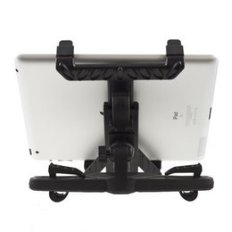 Headrest bracket mount online shopping - Universal Car Back Seat Headrest Mount Holder Stand for iPad Tablet GPS DVD