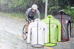 2016 ветрозащитный водонепроницаемый Велоспорт плащ женщин или мужчин велосипед плащи велосипед одежда лето длинные рукава Велоспорт куртки трикотажные изделия