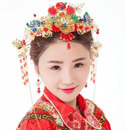 cb479aa0419d Costume cinese del copricapo online-PK0001 accessori per capelli da sposa  copricapo da sposa all