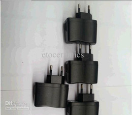 Опт Оптовая Новый USB AC Адаптер Питания Стены MP3 Зарядное Устройство ЕС Европейский Разъем Для мобильного телефона Lots500