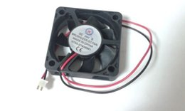 dc 24v brushless fans Canada - 20 pcs x 5015s 24v 50x50x15mm 2 Wires Brushless DC Cooling Fan