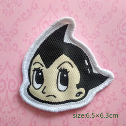 Wholesale astro shirt for sale - Group buy Astro Boy Collection Sew On Patch Shirt Trousers Vest Coat Skirt Bag Kids Gift Baby Decoration
