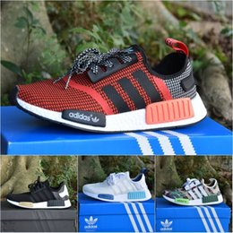 men's adidas originals nmd r1 primeknit tri color nz