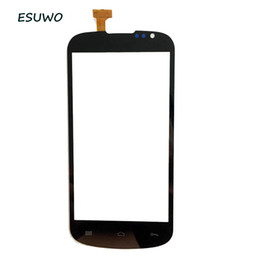 China Wholesale- ESUWO New For Gigabyte GSmart Aku A1 Capactive Touch Screen Digitizer Front Glass Black Color+3m sticker cheap 3m touch suppliers