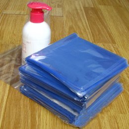 Envolturas De Calor Al Por Mayor Baratos-Al por mayor-200Pcs / Lot Event Clear Wrap Embalaje de cosméticos Bolsa de plástico abierto Top Heat Heat Seal Empaquetado PVC Heat Shrink Storage Bag
