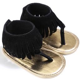 Chinese  Wholesale- ROMIRUS Summer Newborn Baby Kids Infant Toddler Fringed Shoes Pram Crib Soft Soled Anti-Slip Moccasins Boy Girl Shoe 0-1T manufacturers